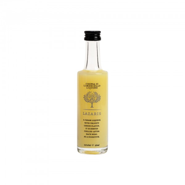 Limoncello cream Liqueur 15% Vol. 50ml Flasche