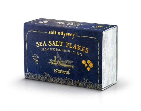 Sea SALT FLAKES 75 g. Schachtel