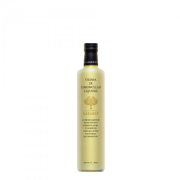 Limoncello cream Liqueur 15% Vol. 250 ml Flasche